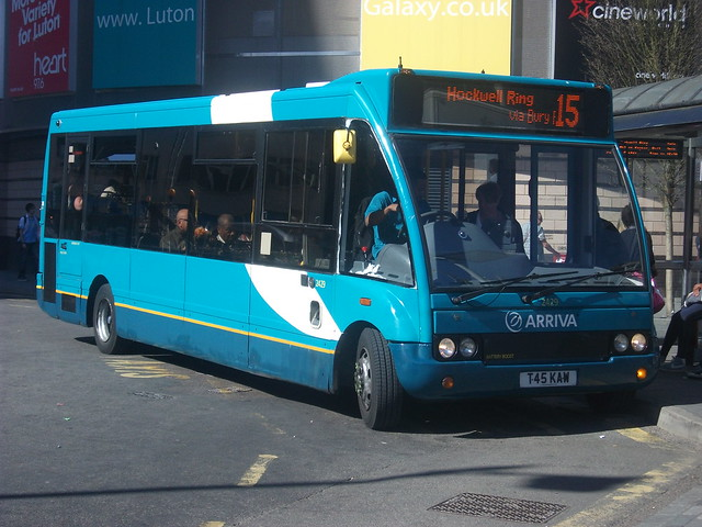 2429, T45 KAW, Optare (Arriva - the Shires)