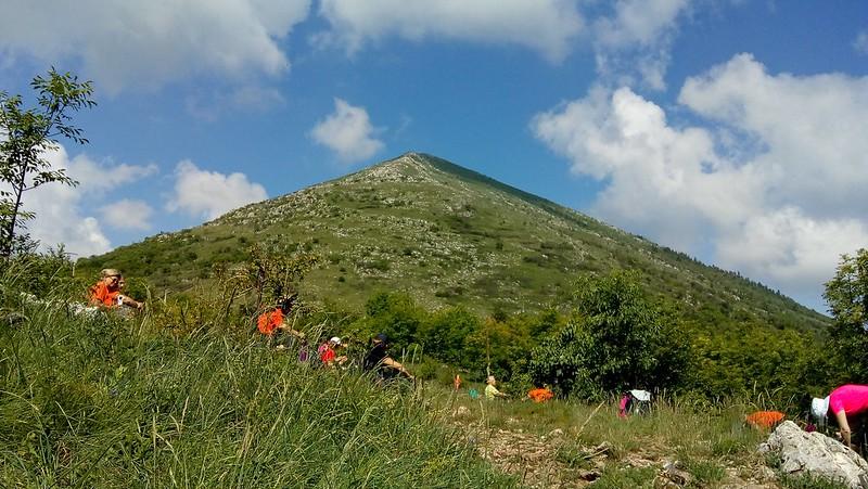 Vrh Rtnja, Šiljak na 1565 m/nv