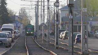 Kolomna tram tracks