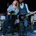 Fri, 11/05/2018 - 8:14pm - Nicole Atkins and her band (including our own DJ Binky Griptite), 5/11/18. Photo by Gus Philippas