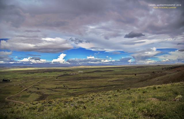 Panorámica del altiplano