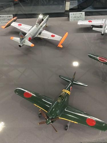 あいち航空ミュージアム 名機百選 紫電改 T-33 模型 CAB6C45F-D45F-42C1-8D3D-ED8002A09B51