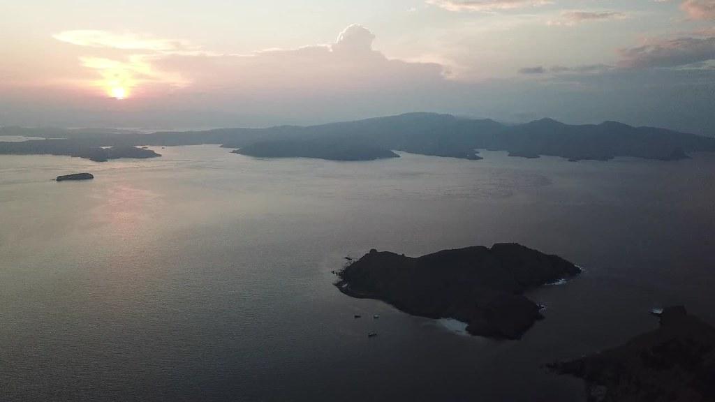 Sunrise at Padar Island, Flores