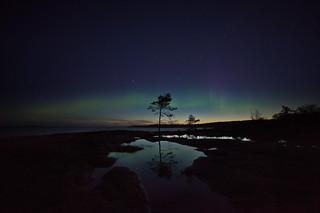 Northern Lights at Hammarudda, Åland