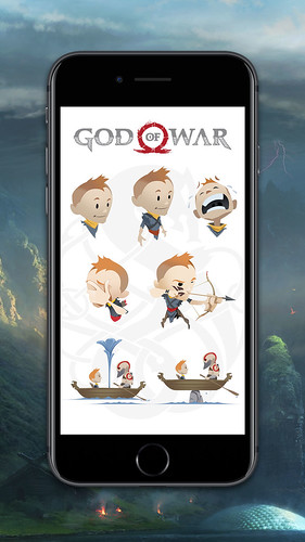 God of War: iMessage Stickers | by PlayStation.Blog
