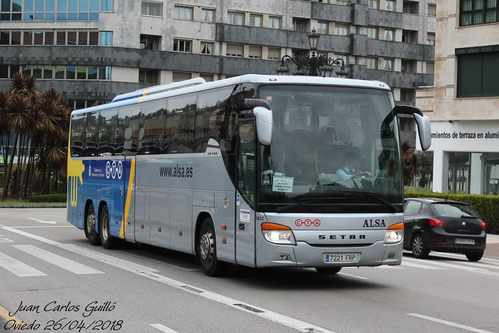 ALSA 5632 | Setra S 417 GT-HD de Alsa haciendo la línea Ovie
