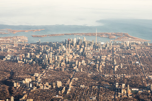 Toronto from Above | by drjnovak