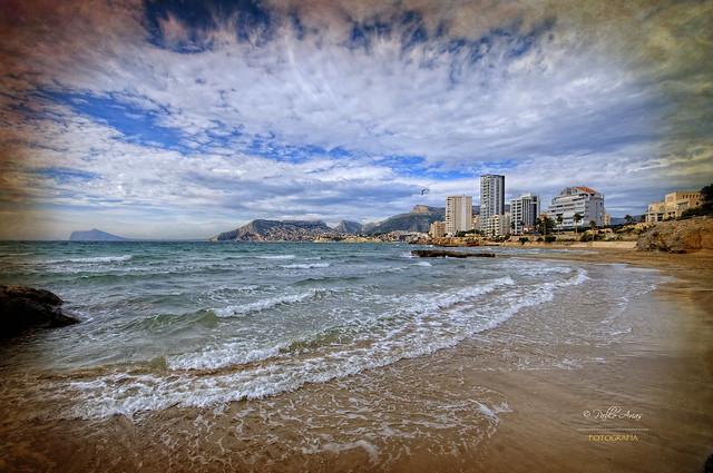 (276/16) Playa Cantal Roig - Calpe
