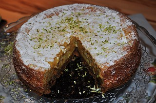 """Lime Squares"" Cake 