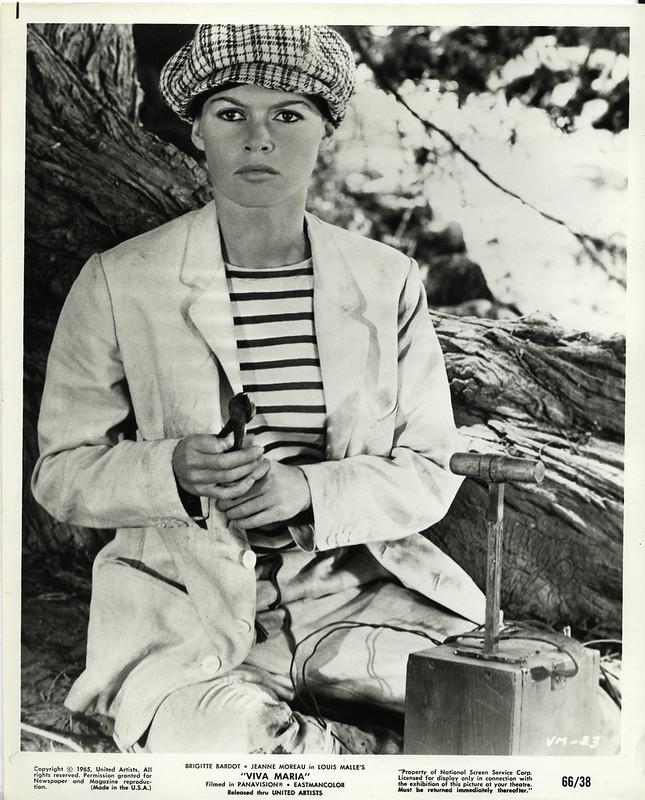 1965 Brigitte Bardot in Viva Maria