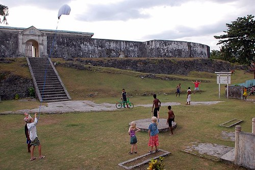 games at the old fort