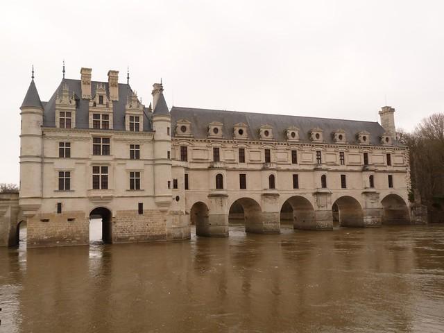 Castillo de Chenonceau (Valle del Loira, Francia)