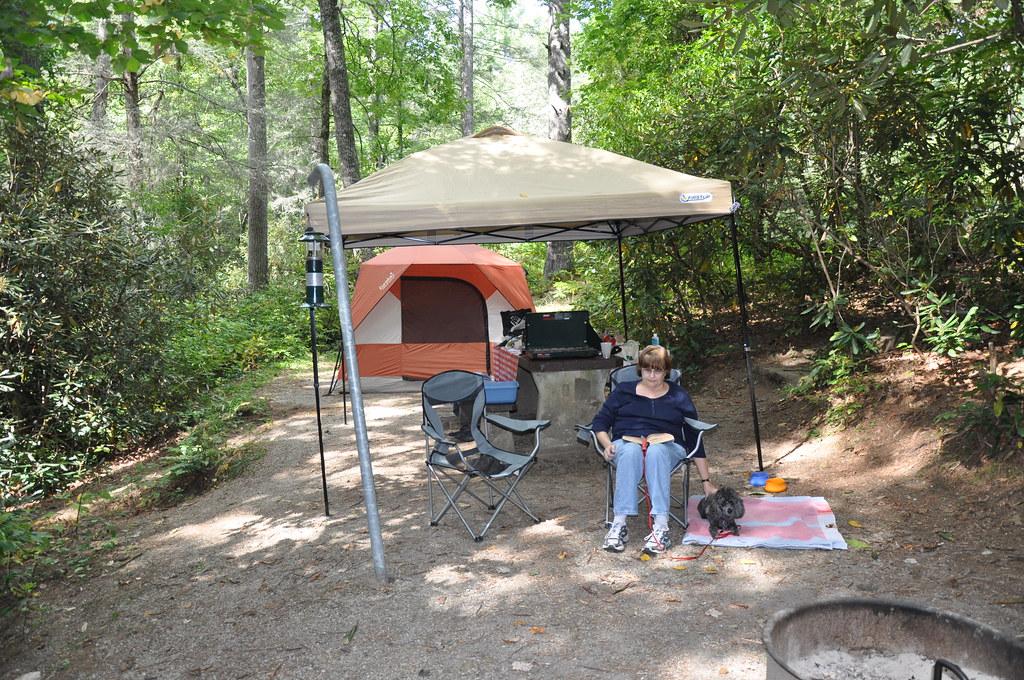 Van Hook Glade Camping, Fall 2011   Camping at Van Hook