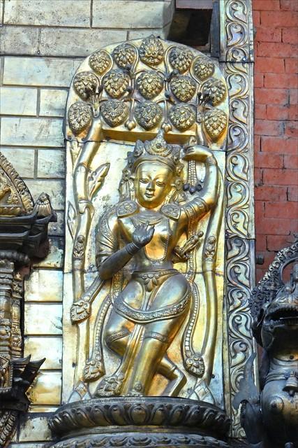 Le temple d'or (Patan)