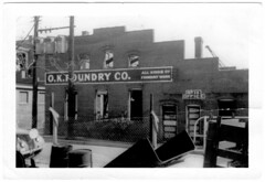 02. Foundry at 17th and Hull Street about time demolished after construction of new foundry at 1005 Commerce.  Around 1947.