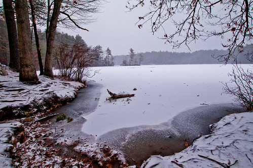 winter snow landscape pond massachusetts newengland andover haroldparker fieldpond