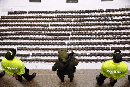 """Golpe al frente séptimo de las Farc y a la estructura logística de la banda criminal de alias """"Pijarvey"""".   by Policía Nacional de los colombianos"""