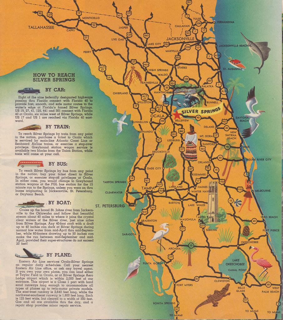 Silver Springs Florida Map Silver Springs Florida map | Liz Hall | Flickr