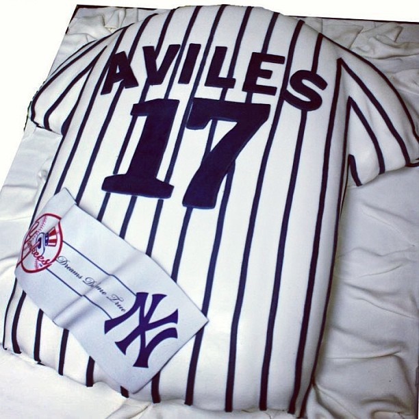 low priced 7d69d 60b8e tbt Custom #NY #Yankees Jersey #Cake by #LariKCreations ...