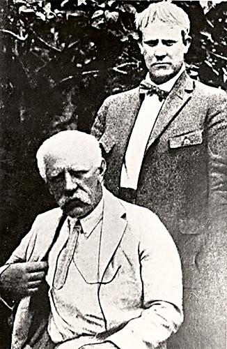 Fritjof Nansen og Vidkun Quisling, 1920-tallet.