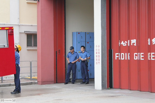 Ma Tau Chung Fire Station Firefighters | by Can Pac Swire