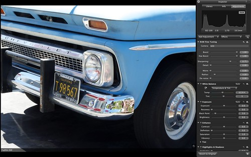 Aperture Display of X20 Raw File   by The Digital Story