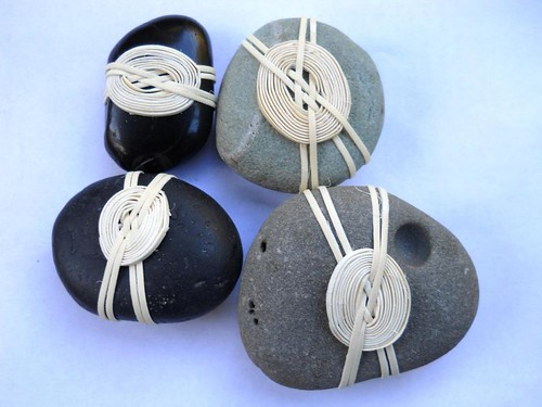 Japanese knots and basketry embellishments