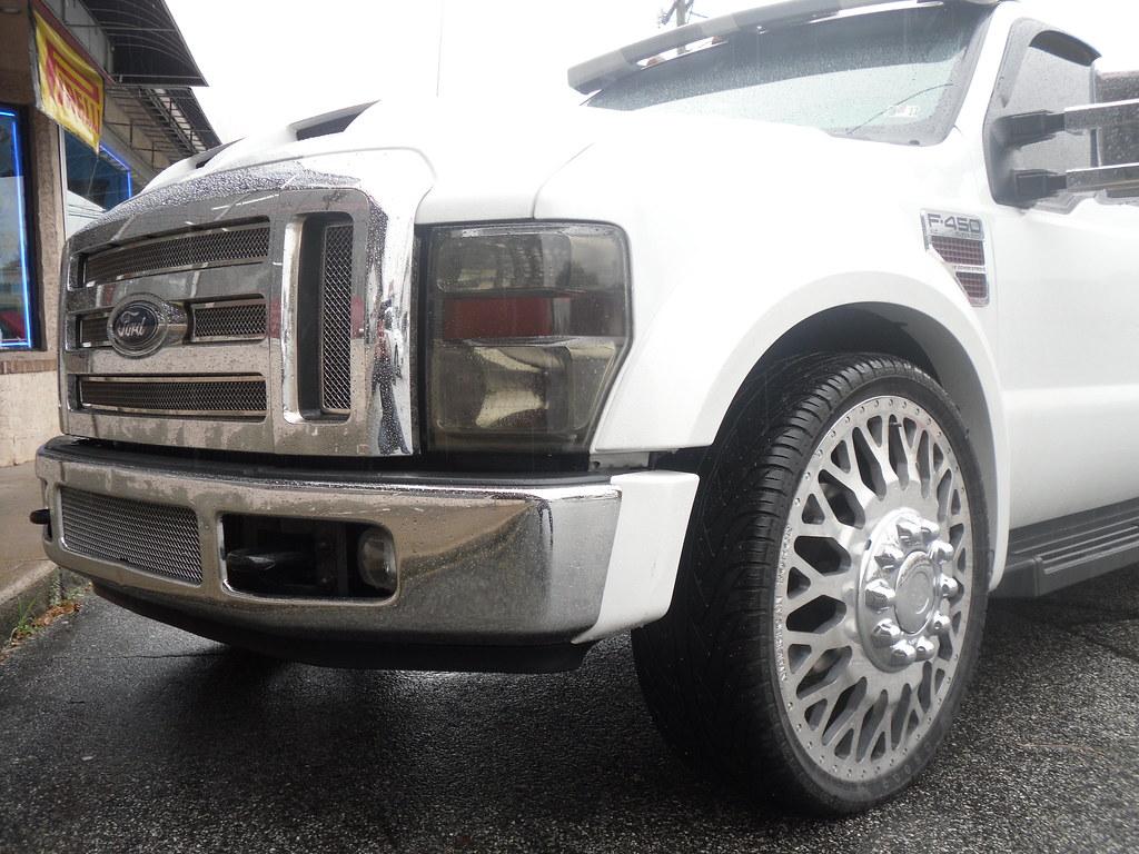 Rayco 2 Nj Ford F450 Dually American Force Wheels 26 Inch Flickr