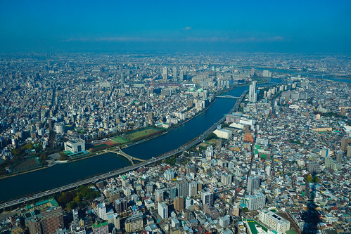 Tokyo from high up   by Cane Kong