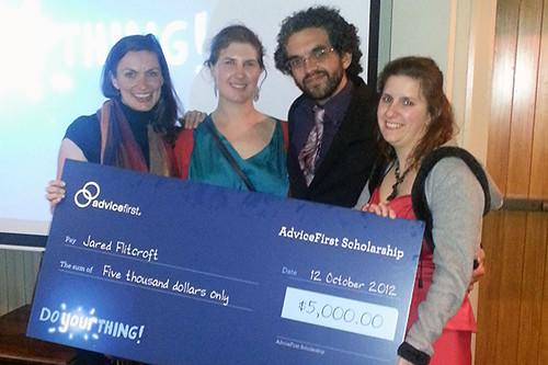AMP Scholarship 2012   by oddsocksnz