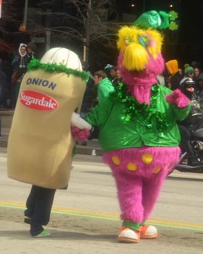 Cleveland, Ohio St. Patrick's Day Parade Slider and Hot Dog Dancing   by EDrost88