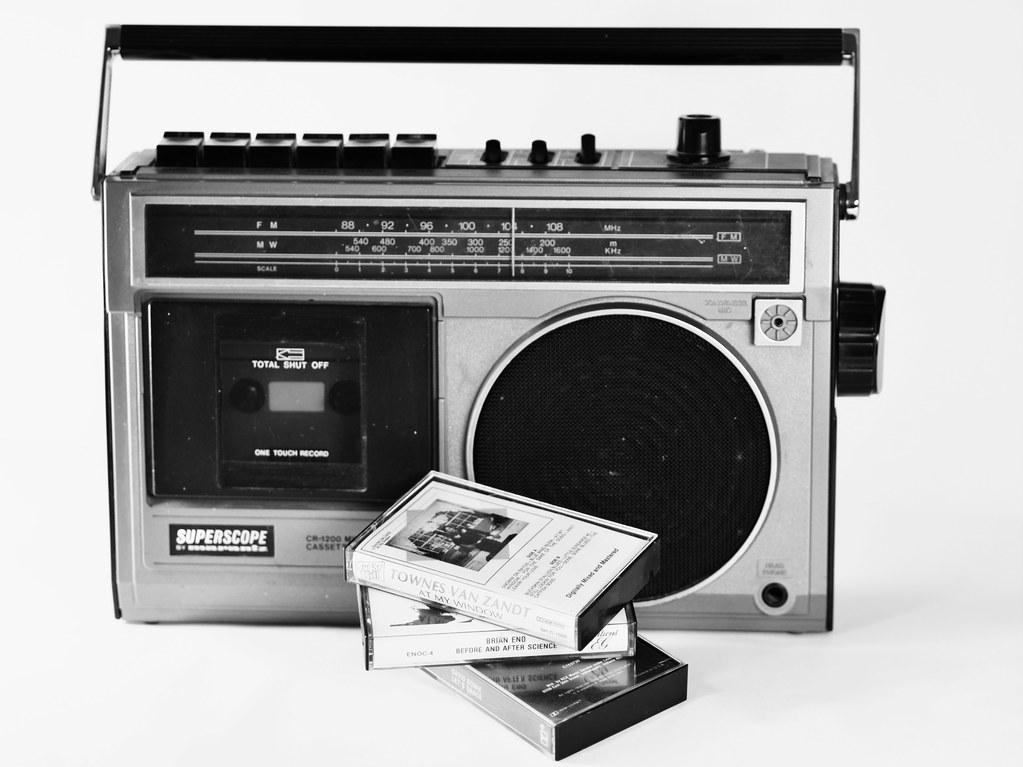 radio radio   marantz superscope amfm cassette vintage playe