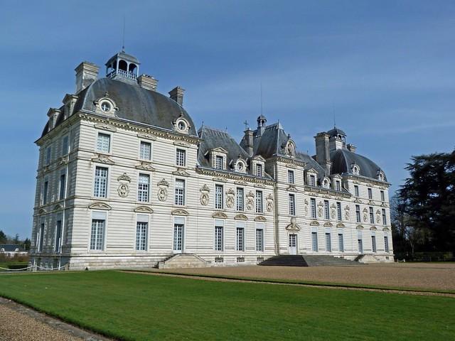 Castillo de Cheverny (Valle del Loira, Francia)