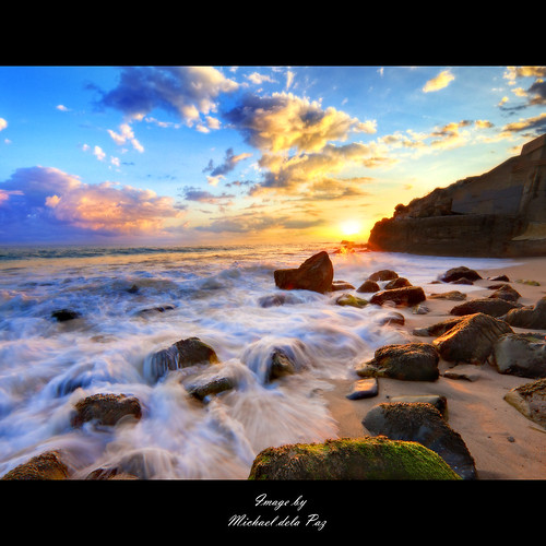 ocean sea beach water waves skies hdr rockybeach sunsetsky sunsetsunrise beautifulsky mygearandme mygearandmepremium