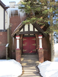 Side door of Prince of Peace Full Gospel Fellowship church building | by Joel Abroad