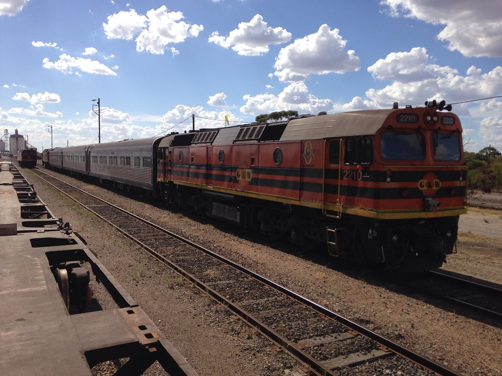 AK Cars with 2210, 2212 and 2214 at Tailem Bend by Wayne