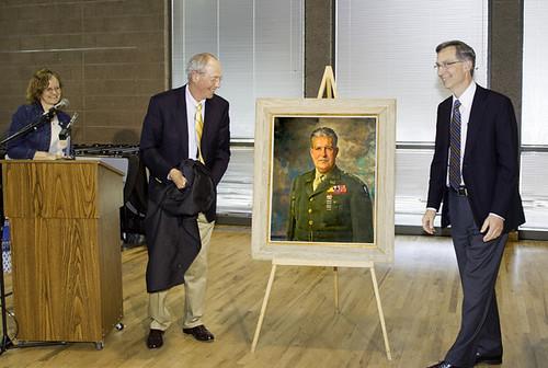 2013 Gen. Groves portrait unveiled