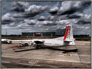 London City airport | by Monica Arellano-Ongpin