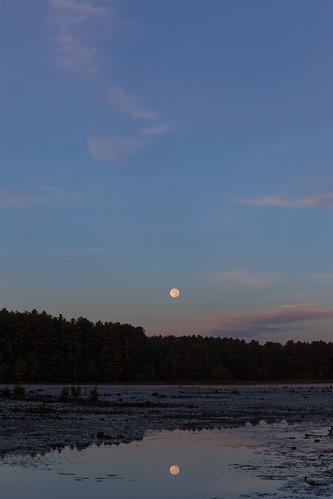 harvestmoon moon fullmoon newengland canon5dmarkii
