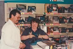 1993 Nov24 Brenton Mellors & Margaret Little Ames Hardware opening