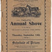 1939 Three Springs Show Schedule