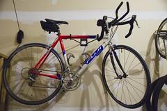 My Fuji Team Pro road bike (showing aerobars)