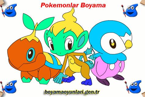 Pokemon Boyama Pokemonlar Boyama Oyununda çizgifilm Karakt Flickr