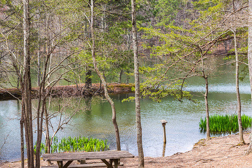 mountain lake green nature view unitedstates huntsville alabama trail