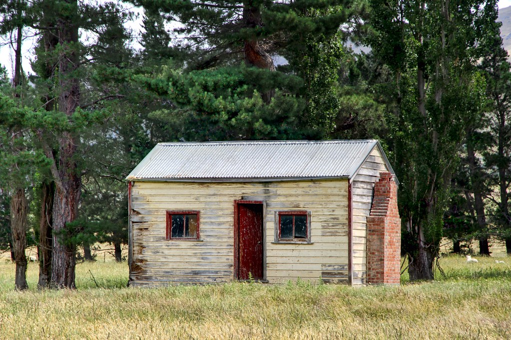 Old House Middlemarch Otago New Zealand A Small Farm Co Flickr