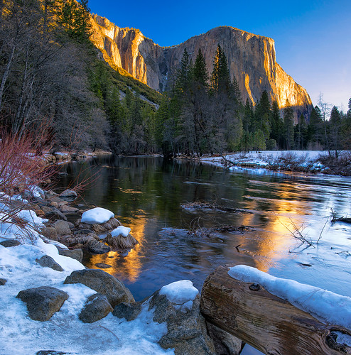 Old Snow in Yosemite