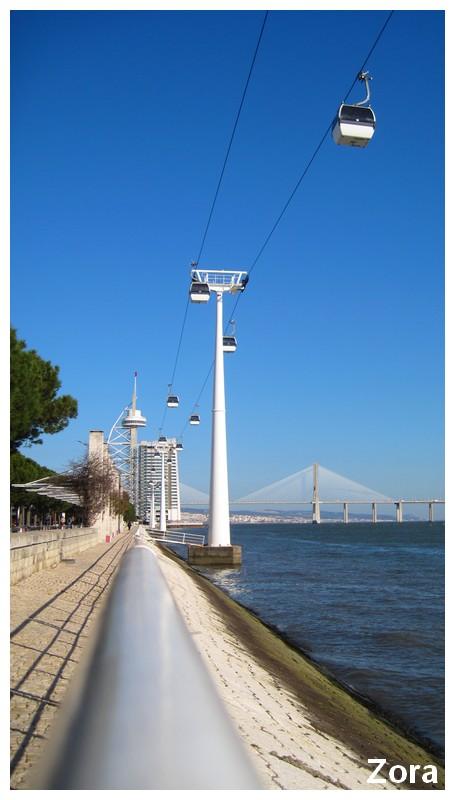 Vasco de Gama du coté du parc des expositions (Lisbonne)