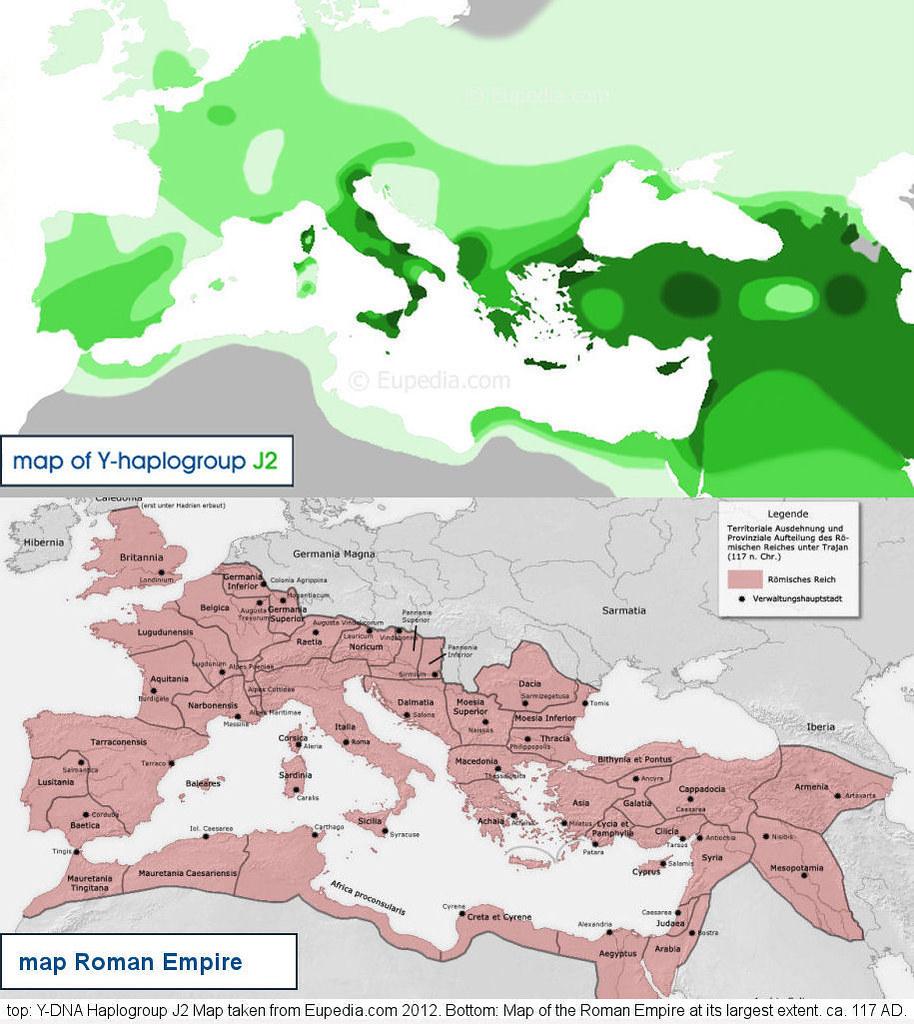 Y Dna Haplogroup J2 M172 Roman Empire Hd Photos And