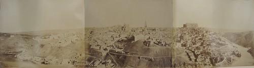Panorámica completa de Toledo en 1858 por Louis Léon Masson. Cortesía de Carlos Sánchez | by eduardoasb