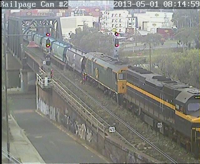 C501-442s2 Down El Zorro SG Grain, ex Appleton Dock 1-5-2013 by Railpage Bunbury Street